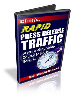 Product picture *NEW* Rapid Press Release Traffic Video Tutorials with Mrr