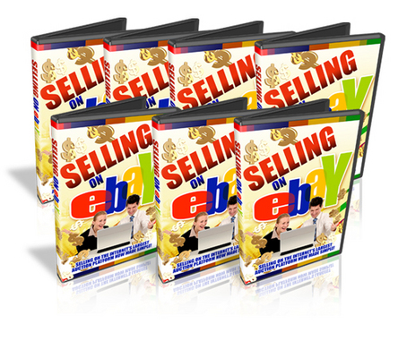 Product picture *NEW* Selling On Ebay Video Tutorials with Mrr
