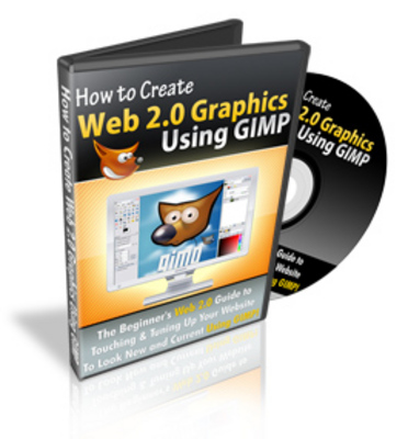 Product picture *NEW* How To Create Web 2.0 Graphics with GIMP (Mrr)