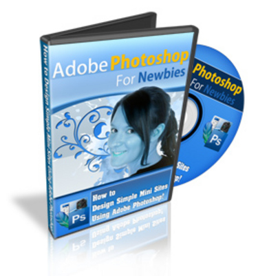 Product picture Adobe Photoshop for Newbies Video Tutorials with Mrr